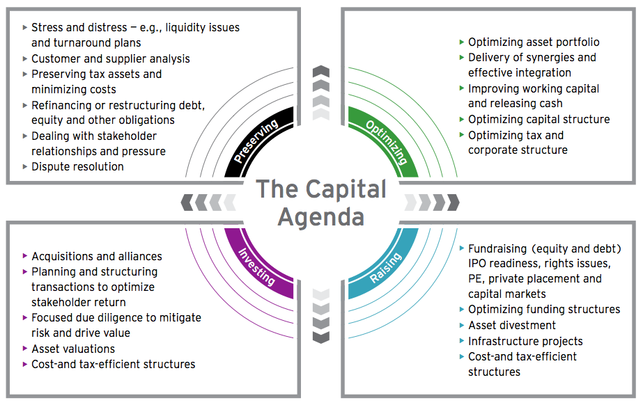 Figure 10: The Capital Agenda