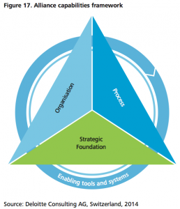 Figure 17 Alliance capabilities framework