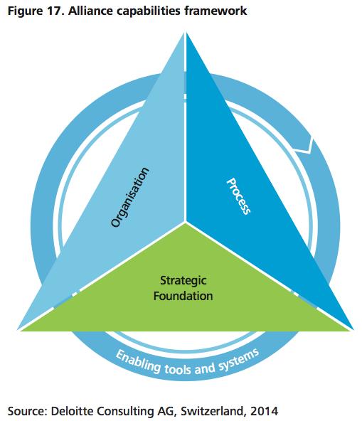 Figure 17 Alliance capabilities framework