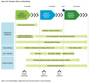 Figure 20 Strategic alliance methodology