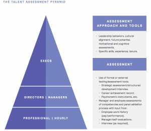 Figure 17 The Talent Assessment Pyramid