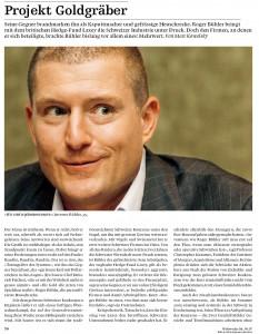Investor Roger Bühler: Project Digger