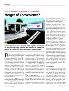 Merger of Convenience