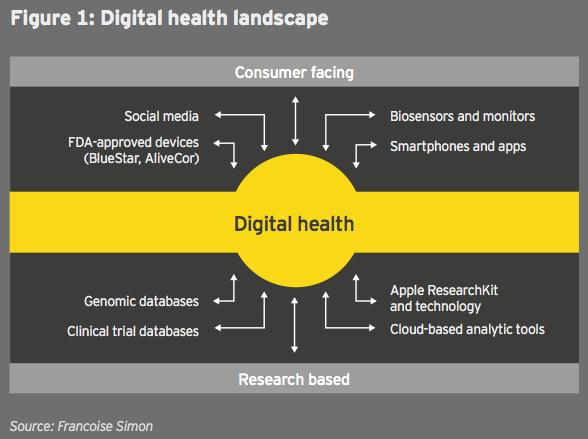 Figure 3 - F 1 Digital health landscape
