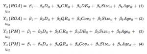 Figure 1 Equations 1-4
