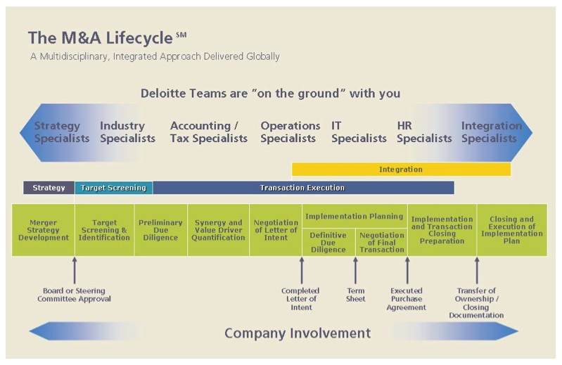 Image 1: M&A Lifecycle