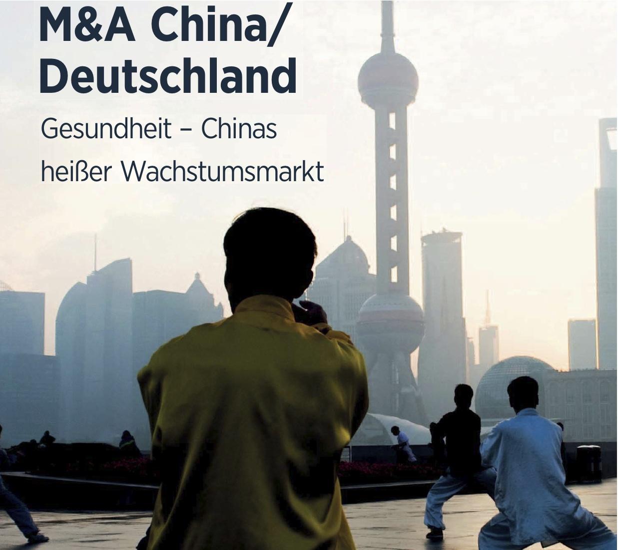 M&A China/Deutschland: Gesundheit – Chinas Heißer Wachstumsmarkt
