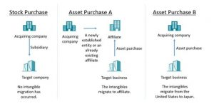 Figure 1 Stock and Asset Purchase