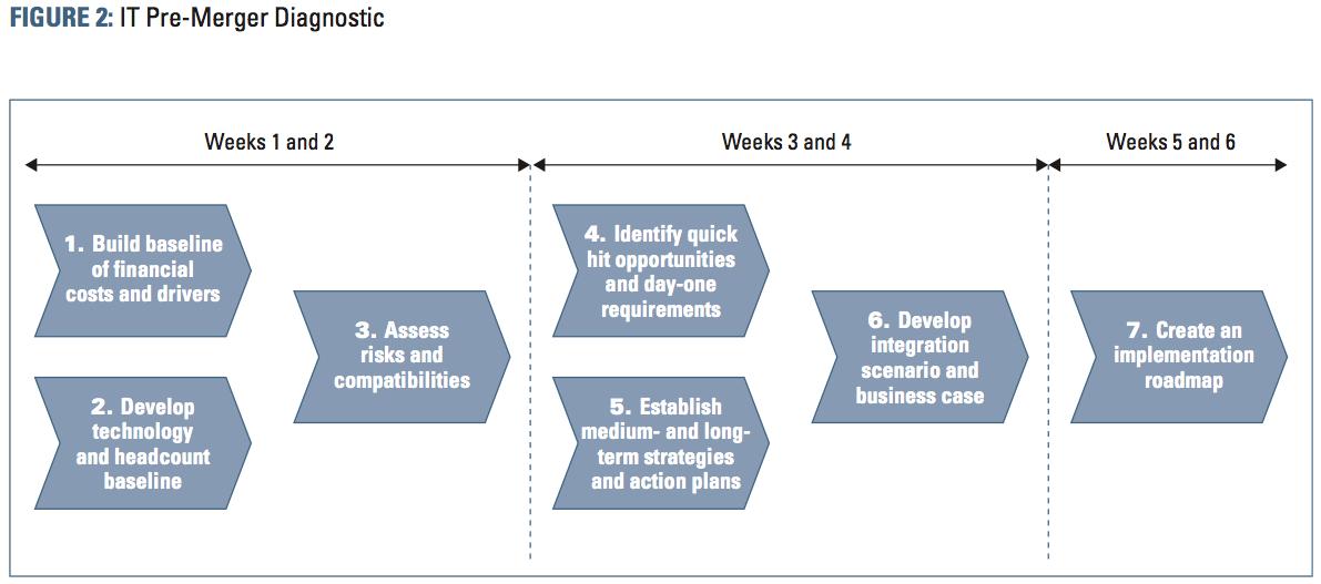 Figure 2 IT Pre-Merger Diagnostic
