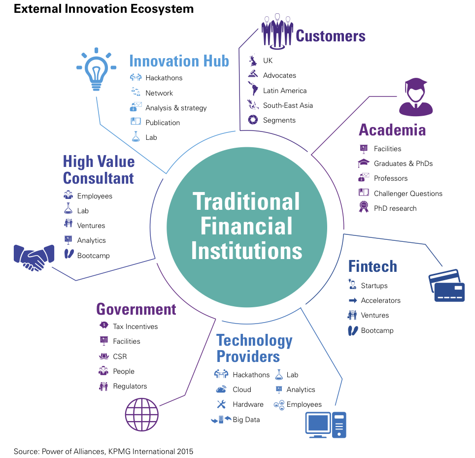 Figure 1 External Innovation Ecosystem