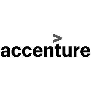 Logo for IT and consulting firm Accenture