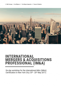 International Mergers and Acquisitions NY