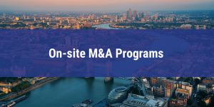 On-site M&A Programs