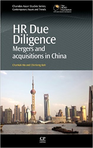 HR Due Diligence : Mergers and Acquisitions in China