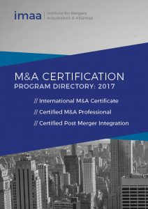 Cover of Mergers & Acquisitions Training Program