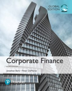 Book Cover for Corporate Finance, Global Edition