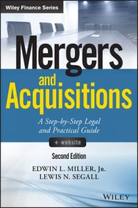 Book Cover Mergers and Acquisitions, + Website: A Step-by-Step Legal and Practical GuideMergers and Acquisitions: A Step-by-Step Legal and Practical Guide