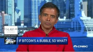 Picture of Aswath Damodaran about Bitcoin Valuation and Bubble