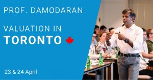 Damodaran Valuation Trianing Toronto