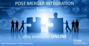 Post Merger Integration Training online