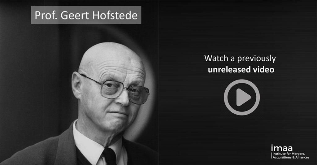 Professor Geert Hofstede on his Culture Research