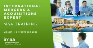 International Mergers & Acquisitions M&A Training in Vienna