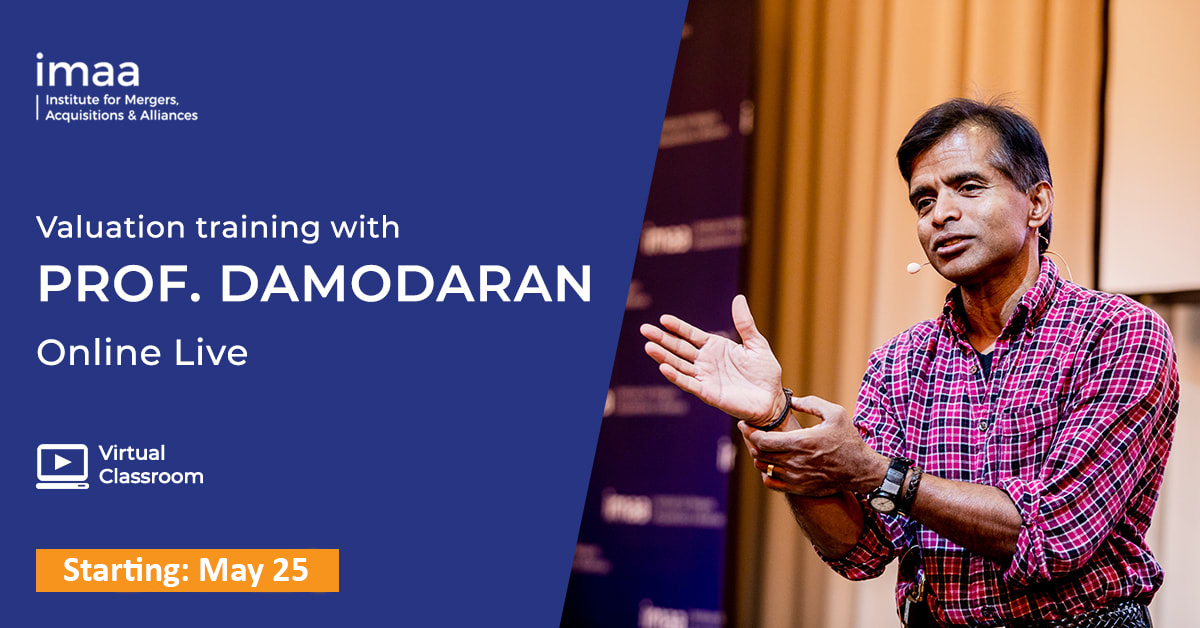 Damodaran Valuation Training Online